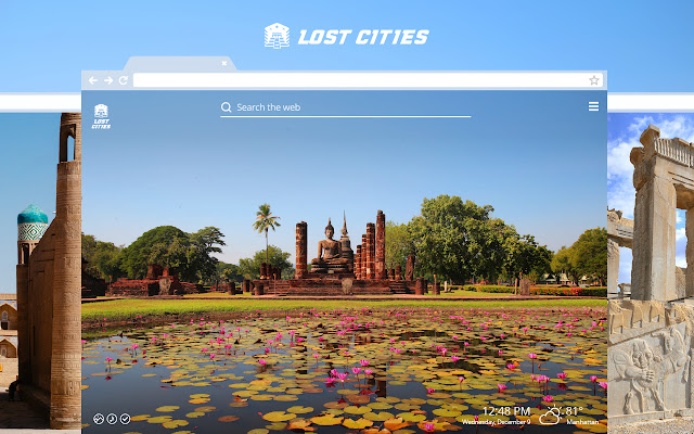 Lost Cities HD Wallpapers New Tab Theme