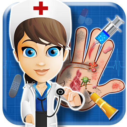 女の赤ちゃんの手のドクターキッドゲーム 教育 LOGO-玩APPs