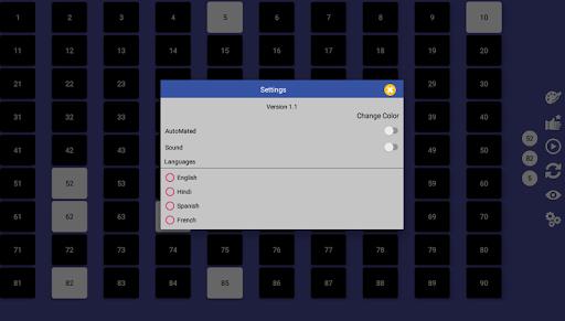 Smart Housie  Number Picker 4.6 screenshots 9