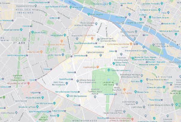6º arrondissement du Luxembourg