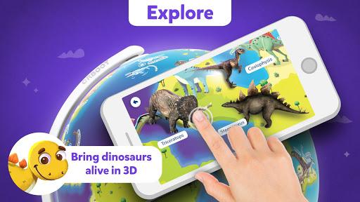 Orboot Dino AR by PlayShifu android2mod screenshots 2