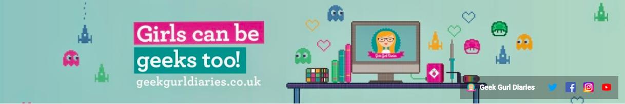 Geek Gurl Diaries YouTube banner