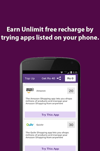 Unlimit free recharge