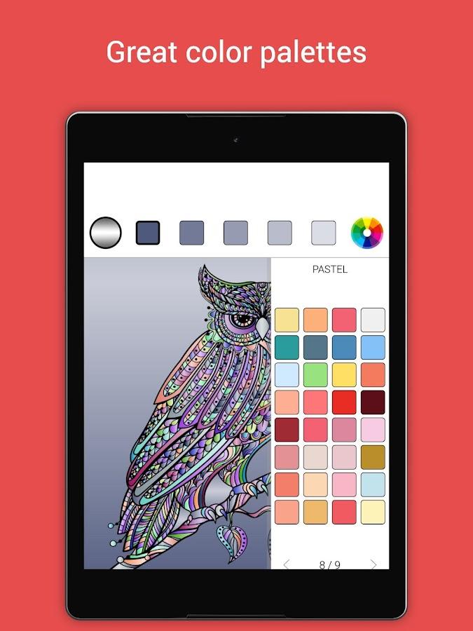 Colorify Free Coloring Book Screenshot