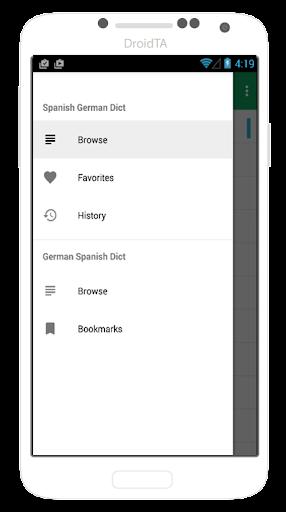 Spanish German Offline Dict