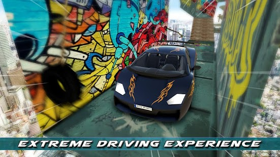 Impossible Tracks: Extreme GT-R Car Stunts - náhled