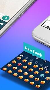 Galaxy Emoji - Smart Emoji Keyboard - náhled