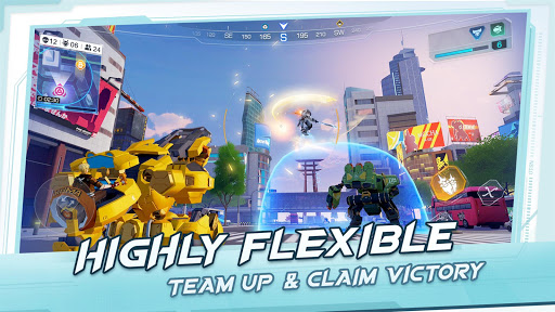 Super Mecha Champions - screenshot