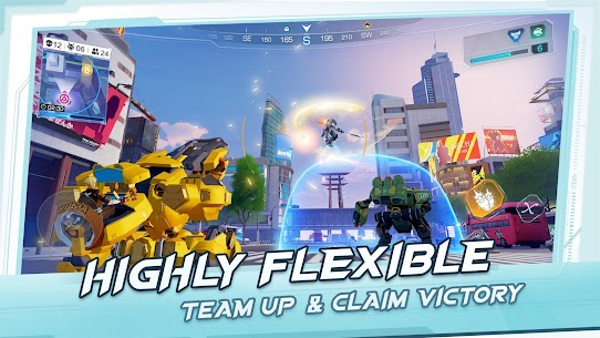 Super Mecha Champions Apk Download For Android and Iphone 5