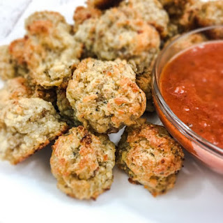 Cheesy Italian Sausage Appetizer Bites Recipe