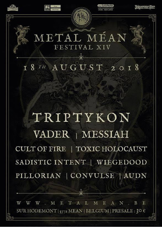 Metal Méan Festival XIV @ Méan, Belgique 18/08/2018