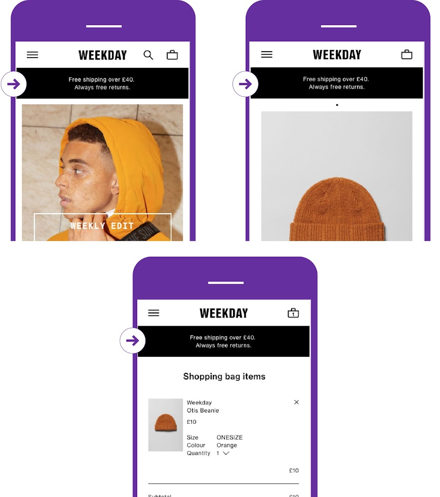 A/B test value proposition across funnel