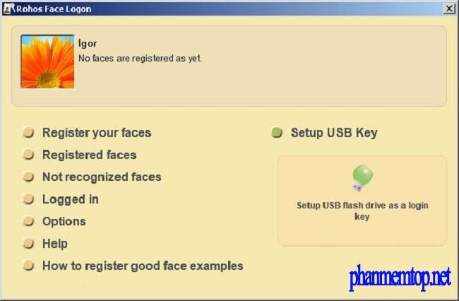 Rohos Face Logon Free Download