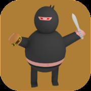 Fat Ninja Messerwerfen