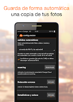Screenshot of Orange Cloud