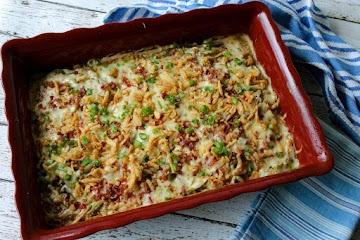 Potato & Veggie Casserole Recipe