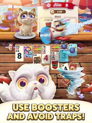 Solitaire Pets Adventure - Free Classic Card Game screenshots 12