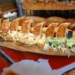 bizarre Dotonbori Sandwich in Osaka, Osaka, Japan