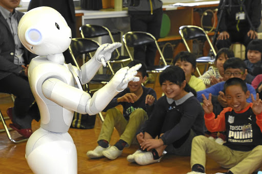 Image result for robots teaching students