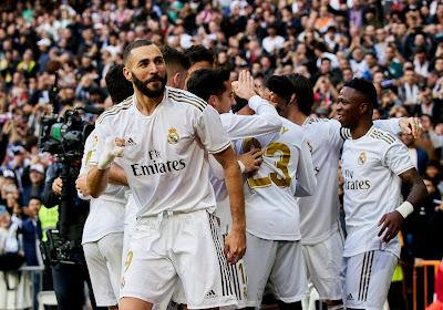 Les joueurs du Real Madrid n'auront pas de prime en cas de sacre en Liga ou Ligue des Champions