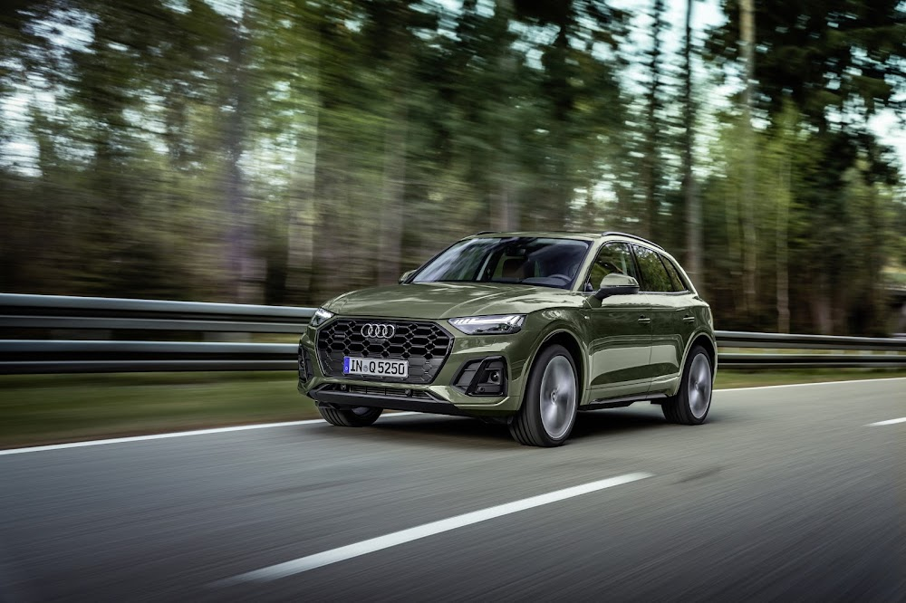 Audi shows refreshed Q5 SUV