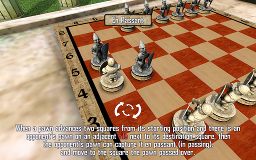 Android үшін  Warrior Chess ойындар screenshot