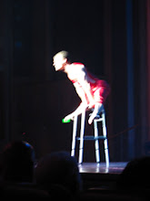 Photo: Guest performer Lance Ringnald-Olympian