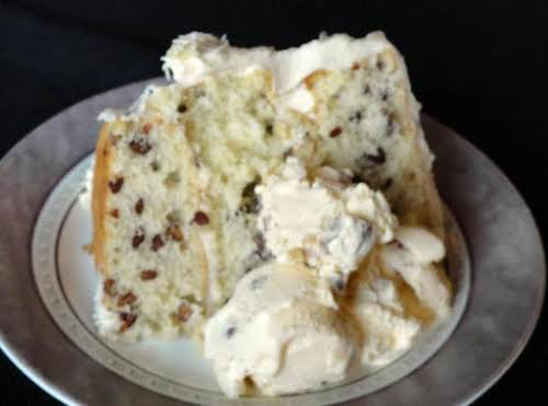 "Click Here for Recipe: Butter Pecan Cake ""So many pecans, so little..."