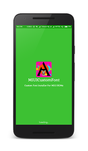 MIUI Custom Font Installer 1.6 screenshots 1
