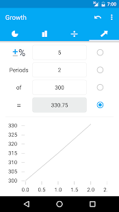Percentage Calculator Screenshot