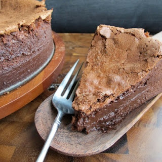 Baked Chocolate Mousse Cake Recipe