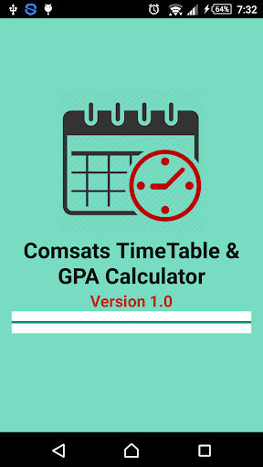 Comsats TimeTable