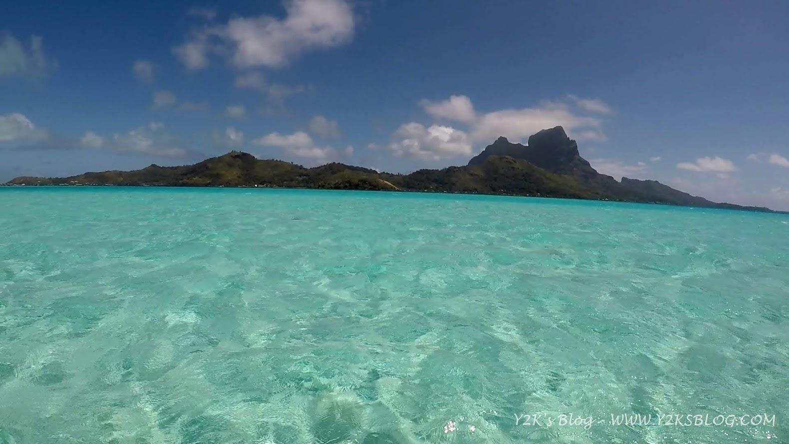 Monte Otemanu sullo sfondo - Bora Bora