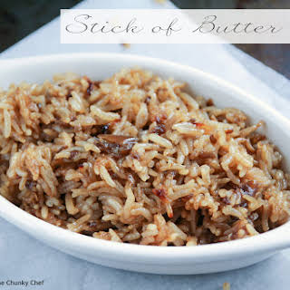 Stick of Butter Rice.