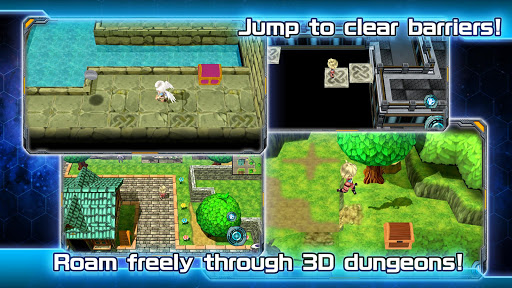 Screenshot for RPG Dimension Cross in United States Play Store