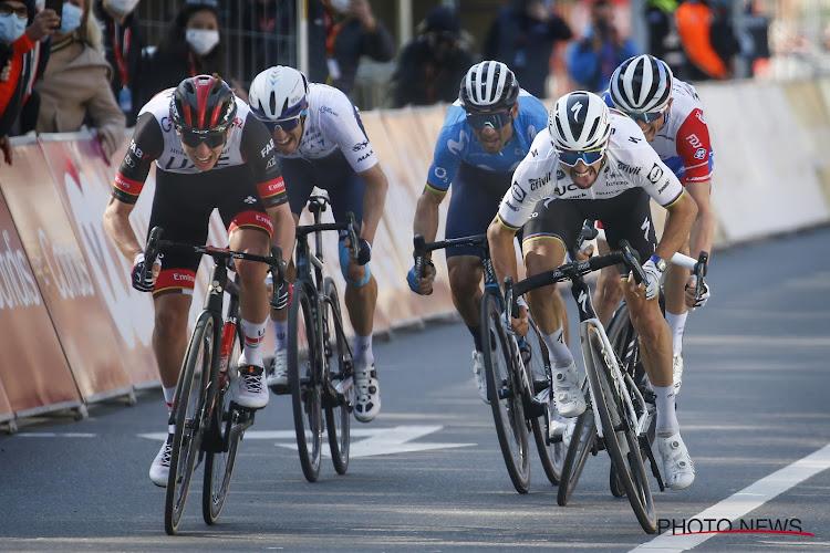 """Alaphilippe toch tevreden en betuigt zijn respect voor winnaar Pogačar: """"Een grootse coureur, hij verdient overwinning"""""""