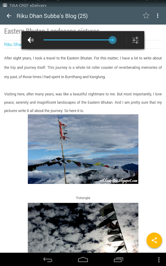 Bhutanese Bloggers- screenshot