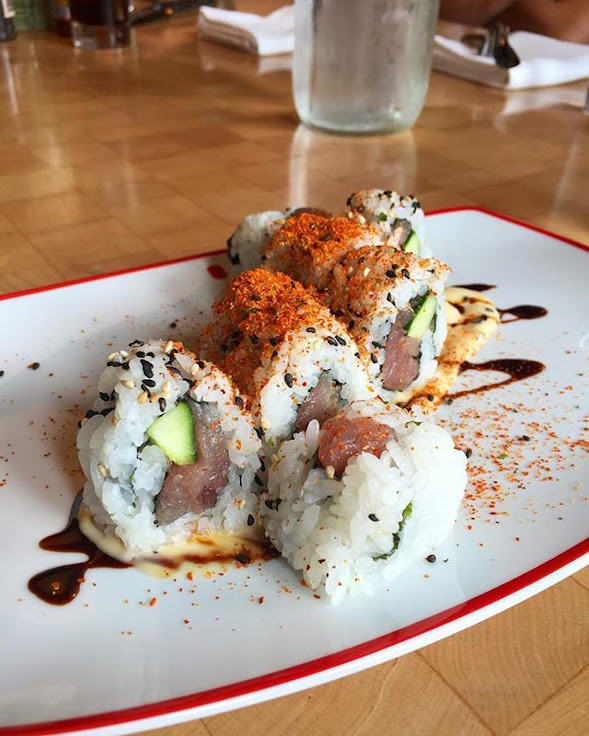 Spicy Tuna Roll at Farmers Fishers Bakers. Photo: britts_bites / Instagram