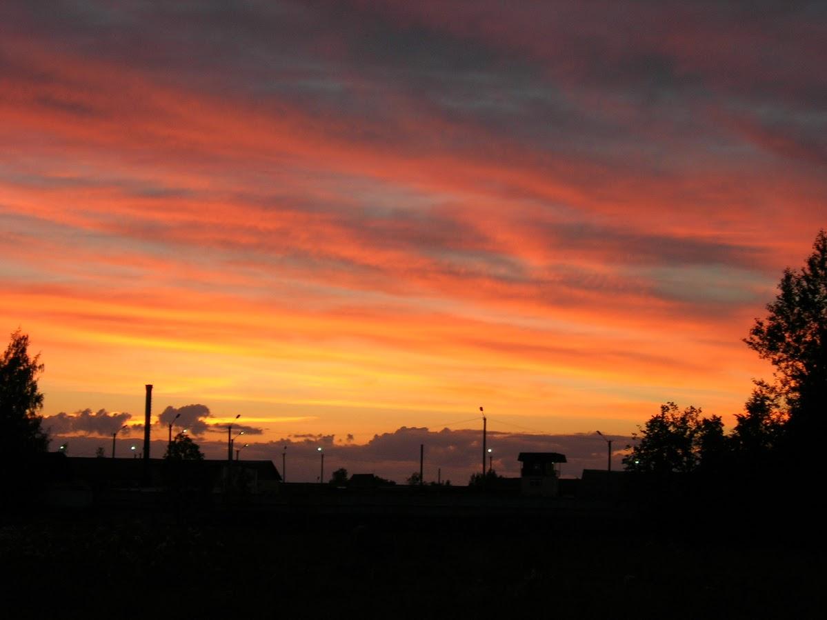 Закат в Сольцах