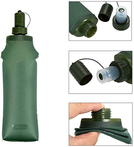 Collapsible Outdoor Sports Water Bottle