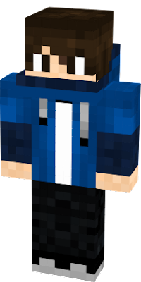 Blue Hoodie Boy Nova Skin
