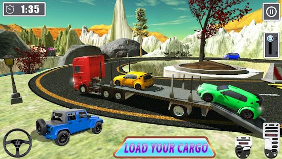Extreme Drivers of Cargo Truck 2018- screenshot thumbnail