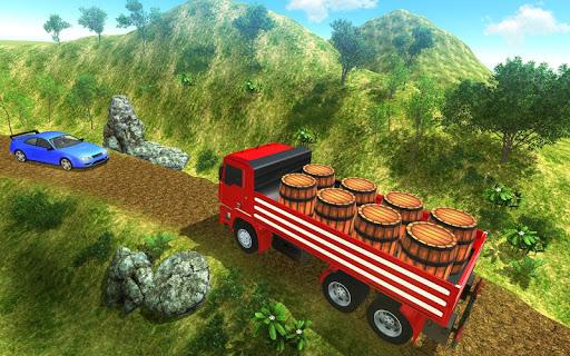 3D Truck Driving Simulator - Real Driving Games screenshot 8