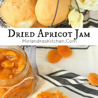 Quick and Easy Dried Apricot Jam.