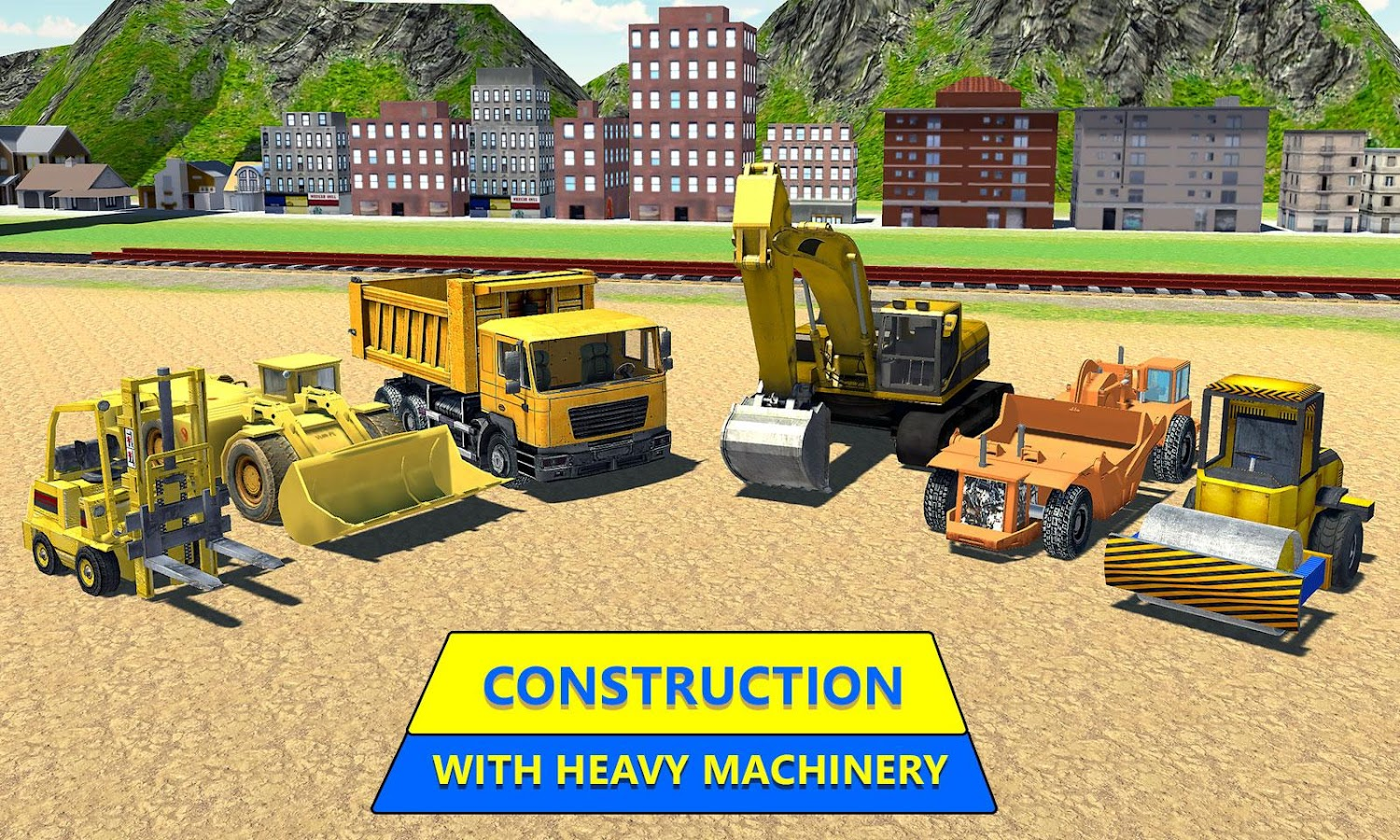 Construct Railway: Train Games- screenshot