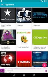 uPod Podcast Player Screenshot 14