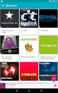 uPod Podcast Player - screenshot thumbnail