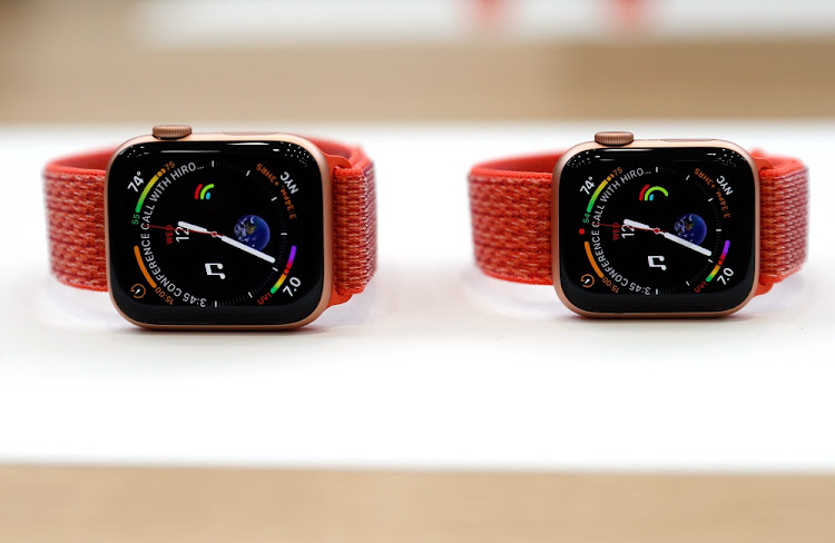 The Apple Watch Series 4. Picture: REUTERS/STEPHEN LAM