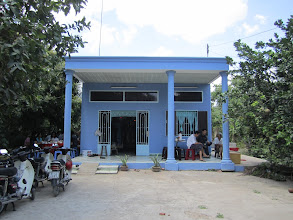 Photo: Nhà Phạm Trí Hoàng ở Bến Tre (cạnh cầu Ba lai)