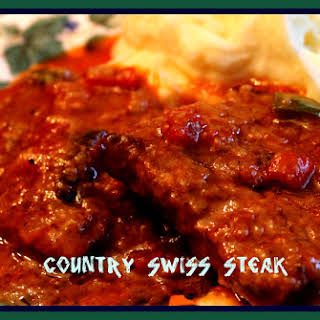 Swiss Steak With Tomato Gravy Recipes.
